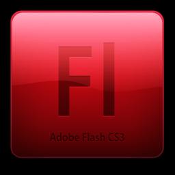 256x256 of Fl CS3 Icon (clean)
