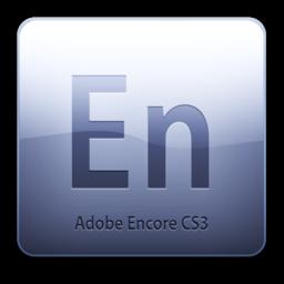 256x256 of Adobe Encore CS3 Icon (clean)