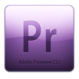 256x256 of Adobe Premiere CS3 Icon (clean)