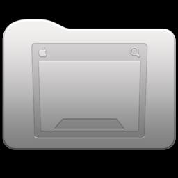 256x256 of Aluminum folder   Desktop