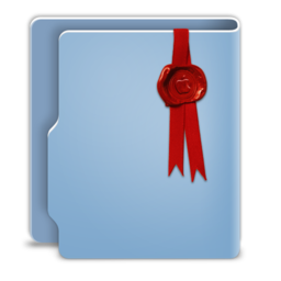 256x256 of Aquave Wax Seal Folder 512x512