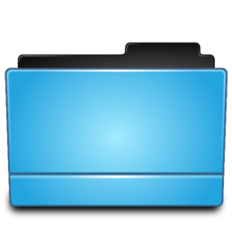 256x256 of Folder blue