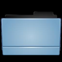 256x256 of Folder blue (Leopard)