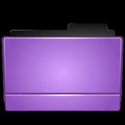 256x256 of Folder purple
