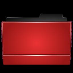256x256 of Folder red
