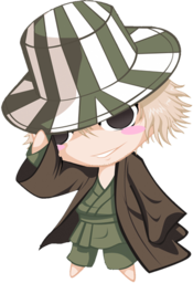256x256 of Bleach Chibi Nr  7 Urahara by rukichen