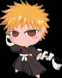 256x256 of Ichigo Bleach Chibi Nr  3 by rukichen