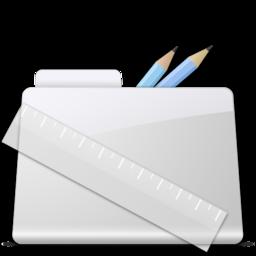 256x256 of Application Folder smooth
