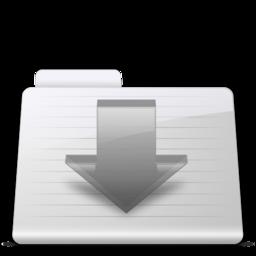 256x256 of Downloads Folder