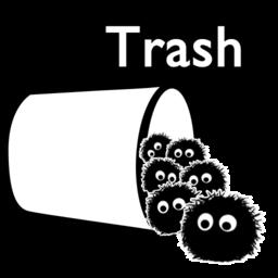 256x256 of trash full
