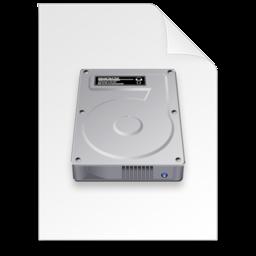 256x256 of disk image Document dark