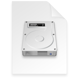256x256 of disk image Document light