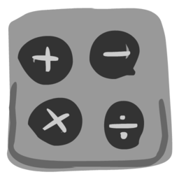 256x256 of Calculator 512x512