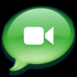 256x256 of iChat groen 2