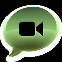 256x256 of iChat groen alt