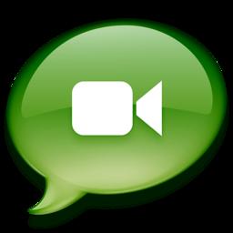 256x256 of iChat groen