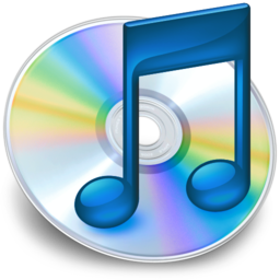 256x256 of iTunes blauw 2