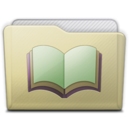 256x256 of beige folder library alt