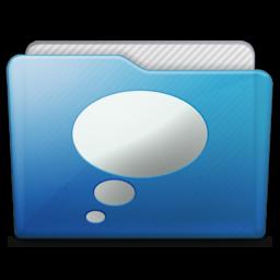 256x256 of folder chats