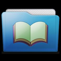 256x256 of folder library alt