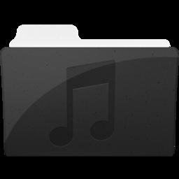 256x256 of MusicFolderIcon
