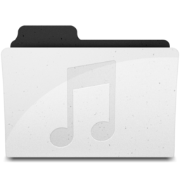 256x256 of MusicFolderIcon Y