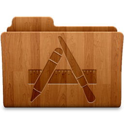256x256 of Applications Wood