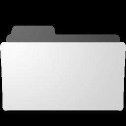 256x256 of minimal open folder