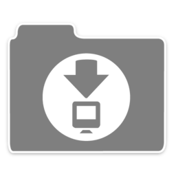 256x256 of Opacity Folder Downloads