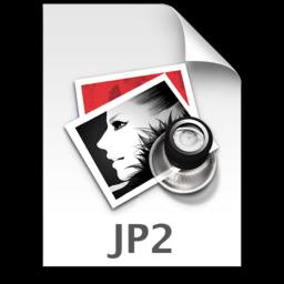 256x256 of JP2