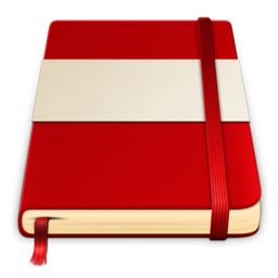 256x256 of moleskine red white 512