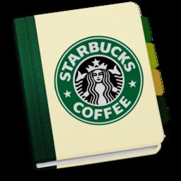 256x256 of StarbucksAddressBookV1 by chekkz