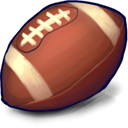 256x256 of football