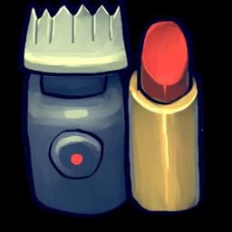 256x256 of Razor, Lipstick
