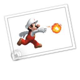 256x256 of Fire Mario