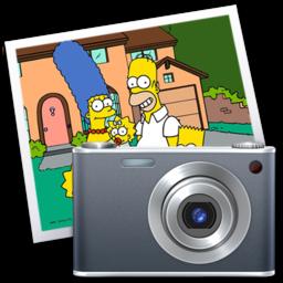 256x256 of iPhoto simpsons