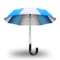 256x256 of Umbrella Blue