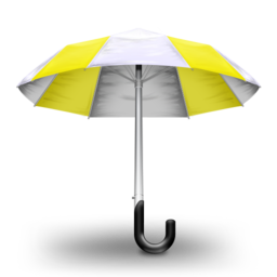 256x256 of Umbrella Yellow