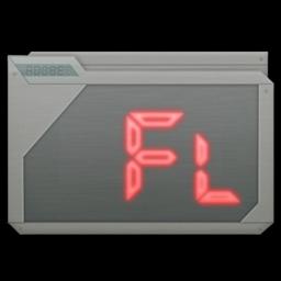 256x256 of folder adobe flash