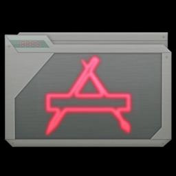 256x256 of folder apps