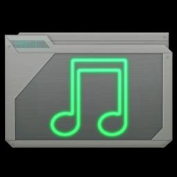 256x256 of folder music