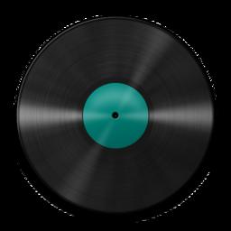 256x256 of Vinyl Turquoise 512