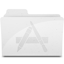 256x256 of ApplicationsFolderIcon White