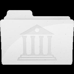 256x256 of LibraryFolderIcon White