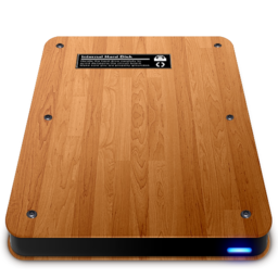 256x256 of Wooden Slick Drives   Internal
