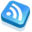 32x32 of RSS Feed Blue
