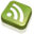 32x32 of RSS Feed Green