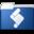 32x32 of Folder Actions Setup blue
