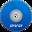 32x32 of DVD Blue
