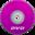 32x32 of DVD Purple